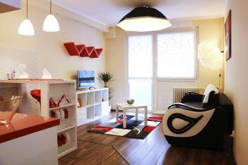 Debrecen, Bethlen utca - Exclusive studio flat is for rent in the City center